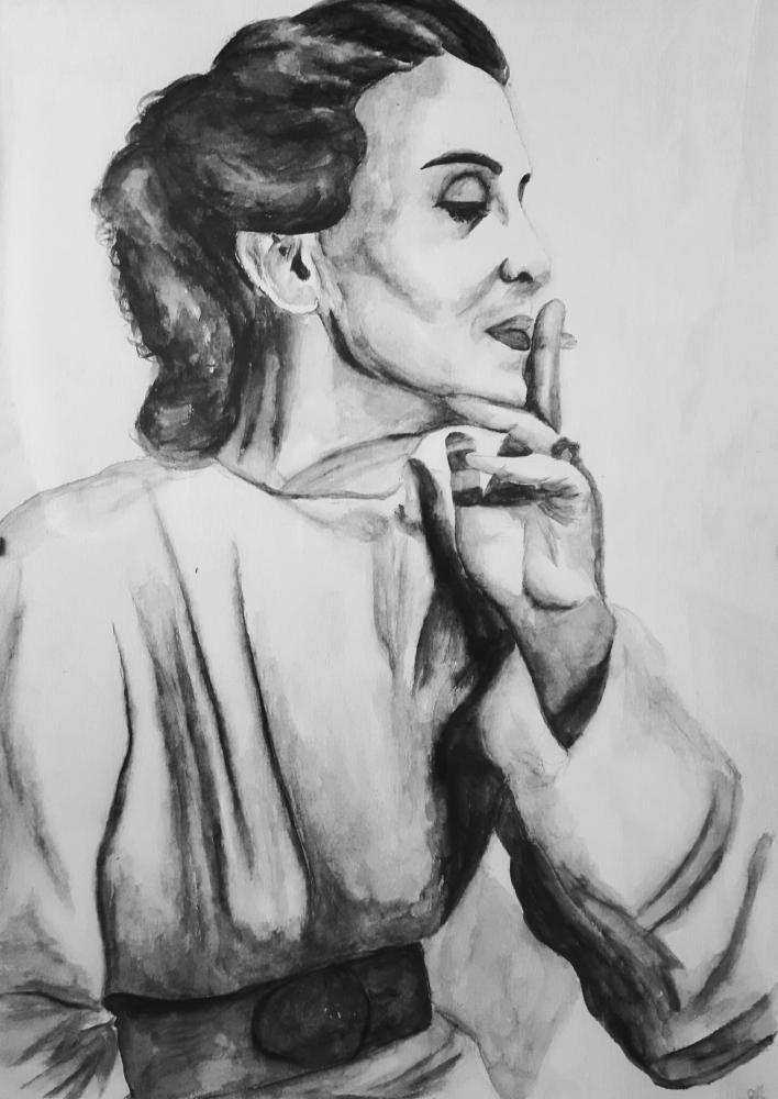 Maria Tanase by AnaPisichiuta
